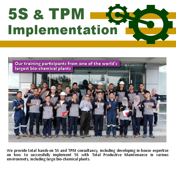5S & TPM Implementation