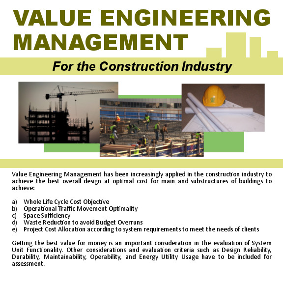 Value Engineering Management